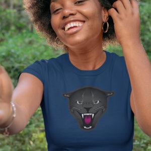 Black Puma Panther girl