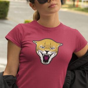 Puma Cougar Mountain Lion Girl